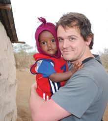 Ryan Rowe, Rotary Peace Fellow and Rotary volunteer, is passionate about water.