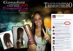 #LisoExtremoColombia da a conocer la flamante ganadora del concurso del mes de Septiembre #CenaLisoExtremo, para 2 personas, la Sra. Nidia Medina Dávila de la ciudad de #Barranquilla FELICITACIONES ! ! !
