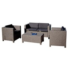 Found it at AllModern - Tauton 4 Piece Deep Seating Group in Tan with Black Cushions http://www.allmodern.com/deals-and-design-ideas/p/Backyard-Boost-on-a-Budget-Tauton-4-Piece-Deep-Seating-Group-in-Tan-with-Black-Cushions~NFN2164~E21549.html?refid=SBP.rBAZEVUSAmEEcy7GsofDAmX4sCdYuUKUmytFNfV2B3E
