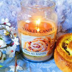 Pain au raisin par Yankee Candle