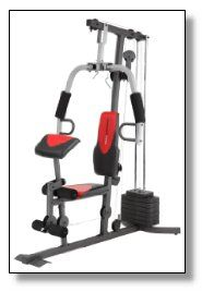 Weider 2980 X Weight System is a complete unit that works on almost all the muscles and parts of your body.