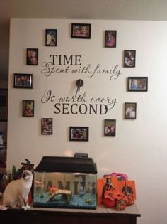 DIY: Home clocks.  Would change from family to you