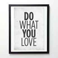 Love quote poster by NeueGraphic on Etsy