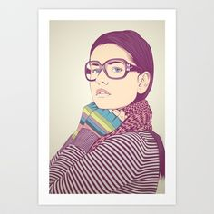 Just know who I am.... Art Print by CranioDsgn - $15.00