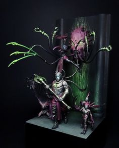 "Slaanesh! by Max ""Amon"" Richiero · Putty&Paint"