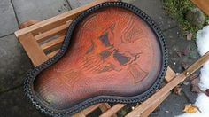 A Harley seat i made From ,Dyrvik´s Leather Sweden