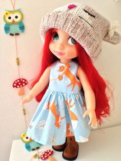 Winter Foxes Dress by Sherbet Lemoni via etsy.com