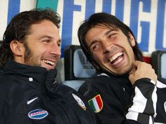 Cuteness: Buffon and Del Piero