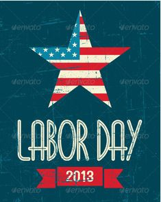 American Labor Day Poster - Seasons/Holidays Conceptual