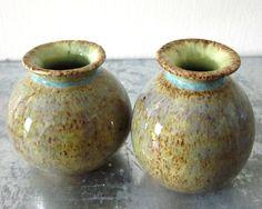 2 tiny vases