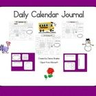 This Product comes with: -September through May Daily Calendar Journal *Days of the Week and Yesterday was.... *Patterns *Number of the Day *Number...