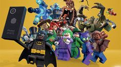 I've got a massive collection of movie poster and promo art for you to  enjoy created Pyramid International for the upcoming The LEGO Batman Movie .  There are 24 images here featuring several different alternate versions of  the Caped Crusader and his rogue gallery of villains including The Jo