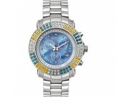 Joe Rodeo Men's JJU18 Junior 4.30ct Diamond watch « Clothing Adds for your desire