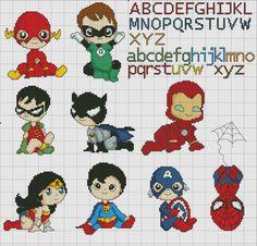Baby superheroes!