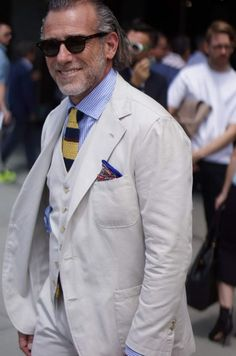 Noteworthy Street Style outfits from Pitti Uomo 86 Day I with a focus on  younger gents 1dff6c202b0