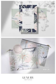 Crane Design, Beautiful Patterns, Home Textile, Print Patterns, Backdrops, Interior Decorating, Pastel, Wallpaper, Prints