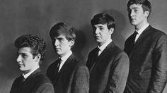 Pete Best, George Harrison, Paul McCartney y John Lennon.