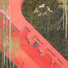 Дворулица. Дипломный проект Алёны Шляховой. Студия архитектурного бюро «Меганом». МАРХИ, 2016