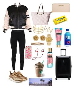 """Yas"" by brendarodriguez0464749 ❤ liked on Polyvore featuring Moschino, Peace of Cloth, NIKE, Victorinox Swiss Army, Betsey Johnson, Michael Kors, BauXo, Miriam Haskell, Rolex and Inbar"