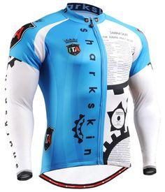 Men s cycling jersey bicycle clothes blue biking shirt S~3XL Men s Cycling 4695ee502