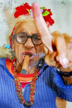 cuban woman smoking cigar - Recherche Google