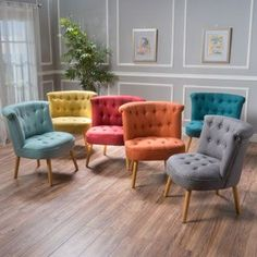 Shop for Cicely Tufted Fabric Accent Chair by Christopher Knight Home. Get free shipping at Overstock.com - Your Online Furniture Outlet Store! Get 5% in rewards with Club O!