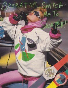 80s swatch ad