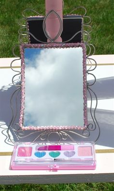 mirror for a princess party