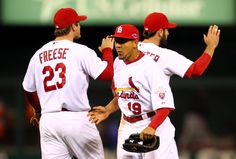 Game 4 of the NLCS- CARDS WIN CARDS WIN CARDS WIN- 8-3 FINAL.  CARDS NOW LEAD THE SERIES 3-1.  10-18-12