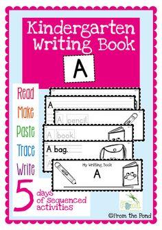 Free Kindergarten Writing Book