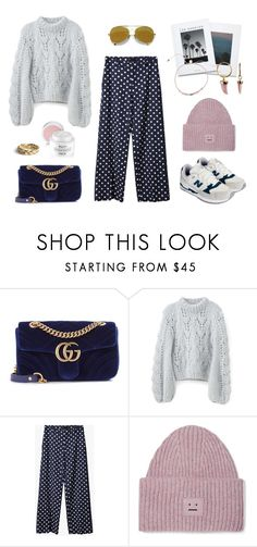 """537 - Laid Back Wednesday"" by caroline-mathilde ❤ liked on Polyvore featuring Gucci, Acne Studios and Karl Lagerfeld"