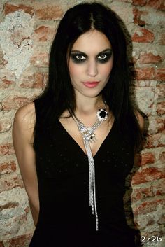 See related links to what you are looking for. Lacuna, Cristina Scabbia, Rock Queen, Women Of Rock, Symphonic Metal, Goth Women, Metal Girl, Badass Women, Alternative Girls