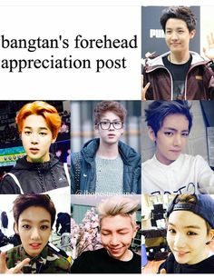 I personally don't get the hype about foreheads but I mean everyone has their kinks bYE