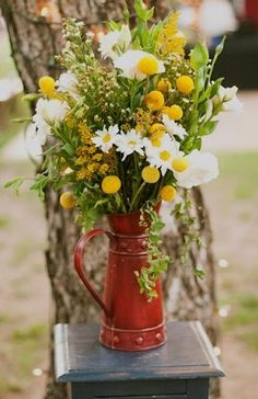Autumn vase  wedding decor outdoors country rustic design party decorations