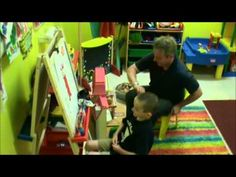 """▶ AutPlay """"Cooperative Painting"""" (child with aspergers).MPG.wmv - YouTube"""