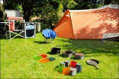 Camping is the ideal getaway for enjoying time with family and friends. Camping Gear, Outdoor Camping, Outdoor Gear, Tent, Author, Car, Image, Automobile, Tentsile Tent
