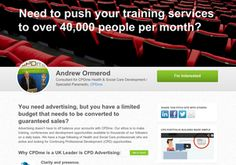 Need to push your training services to over 40,000 people per month?