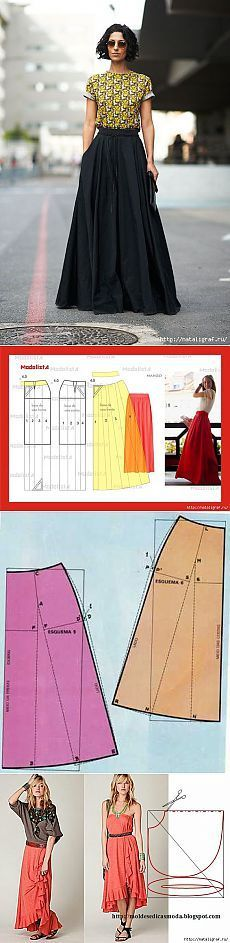 Long skirts + patterns and a couple of tips | Woman's World