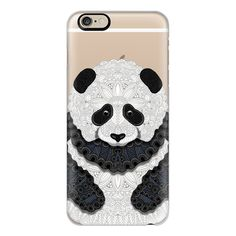 iPhone 6 Plus/6/5/5s/5c Case - Little Panda (39 CHF) ❤ liked on Polyvore featuring accessories, tech accessories, phone cases, phones, technology, iphone case, apple iphone cases, iphone cases, iphone 5 cover case and iphone cover case
