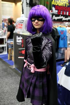 Hit Girl, Kick Ass. San Diego Comic-Con 2011.