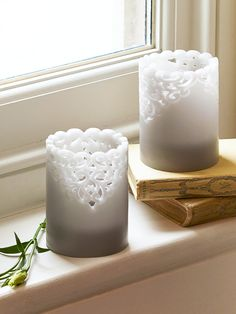 Lacy LED Candle     Cox & Cox Gift Guide