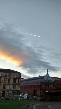 Céu de Glasgow/ UK 12/2016