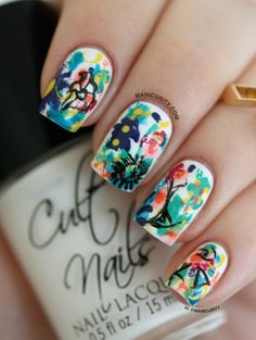 Unusual And Creative Nails Art Idea For Stylish Girls ‹ ALL FOR FASHION DESIGN