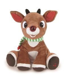 1c9f037820b1f Rudolph the Red-Nosed Reindeer Musical Plush Toy by Kids Preferred - Baby  Neutral
