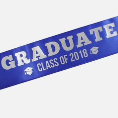 Personalised, Custom Printed Sash for Graduation day - wide Class Of 2018, Graduation Day, Printed Ribbon, Your Message, Sash, Messages, Prints, Inspiration, Design