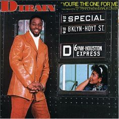 Funk-Disco-Soul-Groove-Rap: D-Train--Youre-The-One-For-Me-(1982)