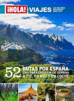 OLÉ!  Ya está a la venta el nuevo especial ¡Hola! Viajes: 52 rutas por España, una para cada fin de semana. A pie, en bici y en coche. Las mejores escapadas para 2015. #viajes #HolaViajes2015 #revistas