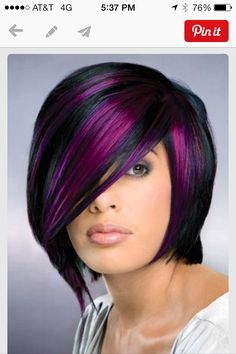 Wanted to do this color but did not want to strip my black hair :(