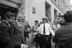 October 10, 1973: VICE PRESIDENT SPIRO T. AGNEW RESIGNS  Vice President Spiro T. Agnew, accused of accepting bribes, pleaded no contest to one count of federal income tax evasion, and resigns his office.