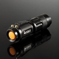 CREE Q5 Aluminum Alloy Camping Torch with 3 Mode Zoomable Focus